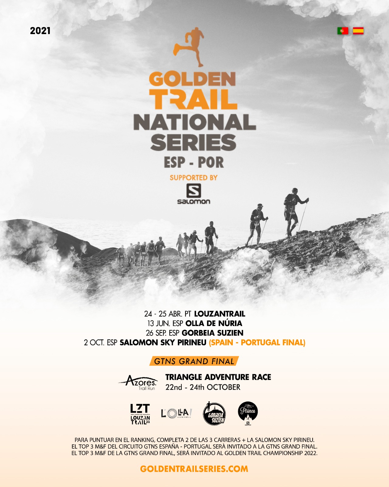 Vuelven Las Golden Trail National Series De España Y Portugal